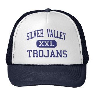 Valle de plata - Trojan - alto - Yermo California Gorros