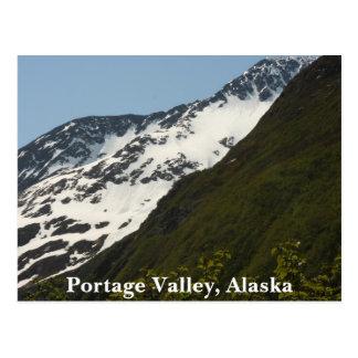 Valle de Portage, Alaska Tarjetas Postales