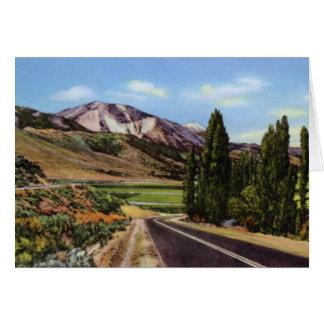 Valle de Reno Nevada Washoe Tarjeta De Felicitación