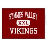 Valle de Symmes - Vikingos - alto - madera Ohio de Tarjeton
