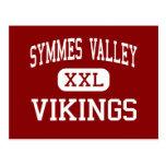 Valle de Symmes - Vikingos - alto - madera Ohio de Postal