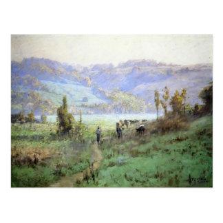 Valle de T.C. Steele- In Whitewater cerca de Metam Tarjetas Postales