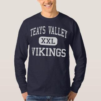 Valle de Teays - Vikingos - alto - Ashville Ohio Camisas