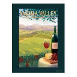 Valle de Yakima, país de WashingtonWine Postal