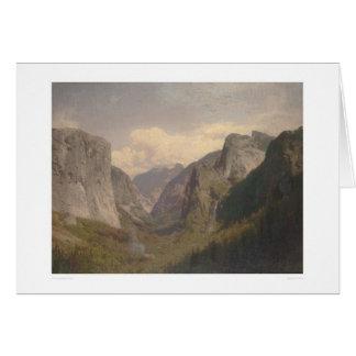 Valle de Yosemite (1334) Tarjeta De Felicitación