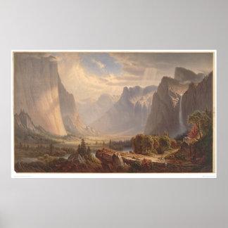 Valle de Yosemite California 0710A Impresiones