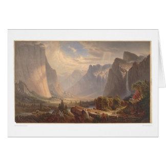 Valle de Yosemite, California (0710A) Tarjeta De Felicitación