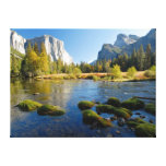 Valle de Yosemite, California Lienzo Envuelto Para Galerías