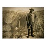 Valle de Yosemite del punto del glaciar de Teddy Postal