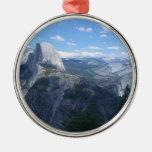 Valle de Yosemite del punto del glaciar Adorno Redondo Plateado