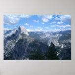 Valle de Yosemite del punto del glaciar Impresiones