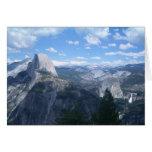 Valle de Yosemite del punto del glaciar Tarjeta De Felicitación