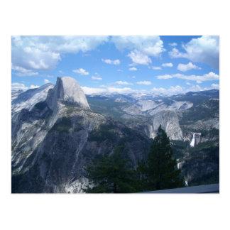 Valle de Yosemite del punto del glaciar Tarjeta Postal