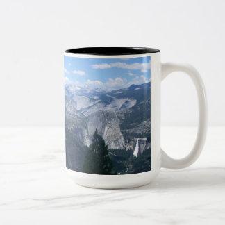 Valle de Yosemite del punto del glaciar Tazas De Café