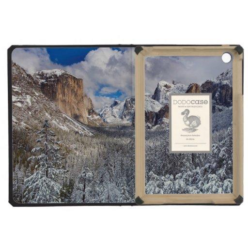 Valle de Yosemite en nieve