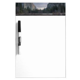 Valle de Yosemite Tableros Blancos