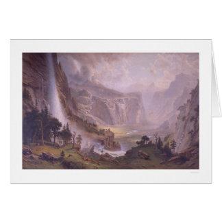 Valle de Yosemite Tarjetón