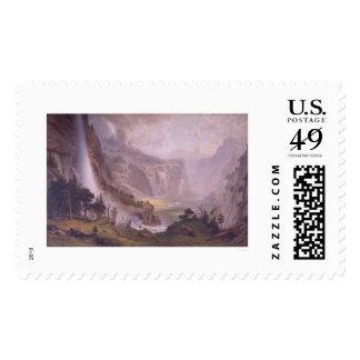Valle de Yosemite Timbre Postal