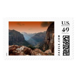 Valle de Zion Timbres Postales