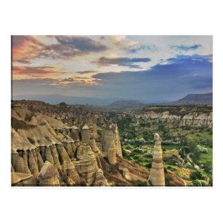 valle del amor en Capadoccia Tarjetas Postales