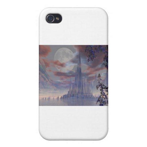 valle del arte 3d de dioses iPhone 4/4S carcasas