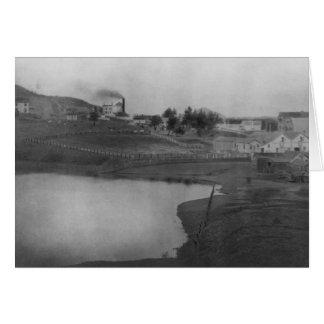 Valle del col, 1892 - notecard felicitaciones