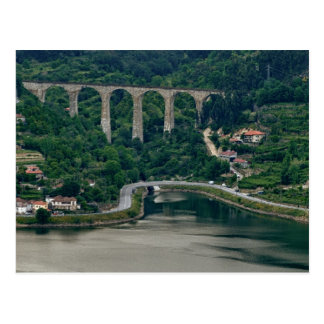 Valle del Duero - la ciudad Oliveira hace el Duero Tarjetas Postales
