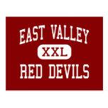 Valle del este - diablos rojos - alto - Yakima Tarjeta Postal