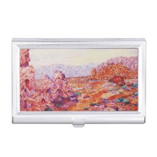 Valle del fuego/del arte dramático, colorido cajas de tarjetas de visita