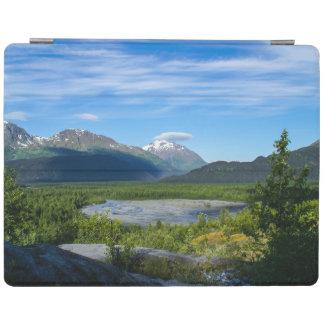 Valle del glaciar de la salida de Alaska Cover De iPad