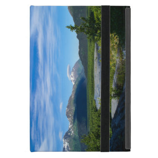 Valle del glaciar de la salida de Alaska iPad Mini Funda