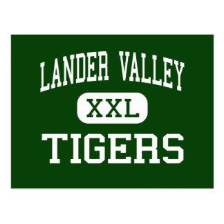 Valle del Lander - tigres - alto - Lander Wyoming Postales