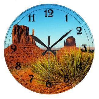 Valle del monumento, Arizona Reloj Redondo Grande