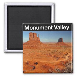 Valle del monumento iman