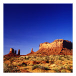 Valle del monumento (polarizado altamente) fotografias