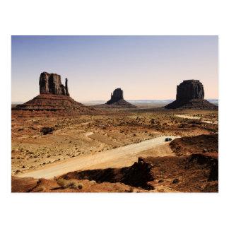 valle del monumento postales
