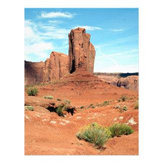 Valle del monumento, Utah, los E.E.U.U. 8 Membrete