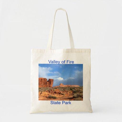 Valle del parque de estado del fuego bolsa
