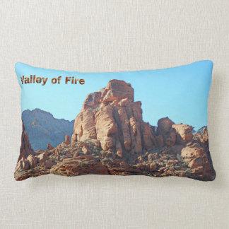 Valle del parque de estado del fuego cojín