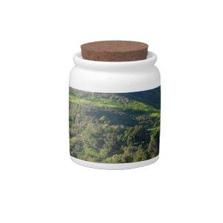 Valle del prado jarras para caramelos