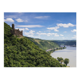 Valle del Rin - postal de Maus del castillo