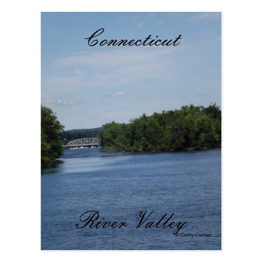 Valle del río Connecticut Postal