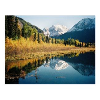 Valle del río Eagle del otoño Tarjetas Postales
