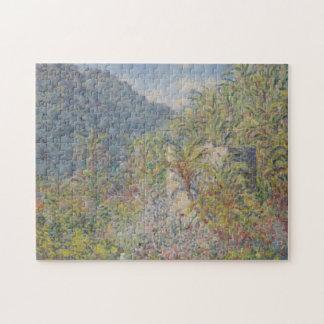 Valle di Sasso Bordighera Monet Fine Art Jigsaw Puzzle