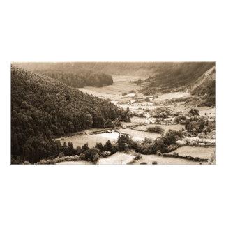 Valle en las Azores Tarjetas Personales