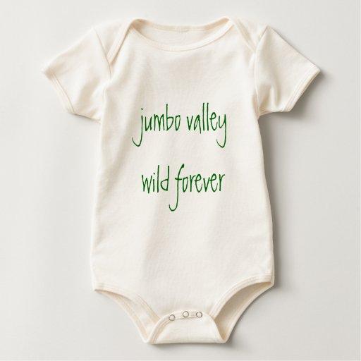 valle enorme salvaje para siempre body para bebé