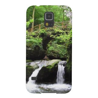 Valle Ernz Luxemburgo de la cascada de Funda Para Galaxy S5