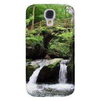 Valle Ernz Luxemburgo de la cascada de Schiessentü Funda Para Galaxy S4