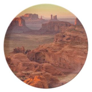 Valle escénico, Arizona del monumento Plato Para Fiesta