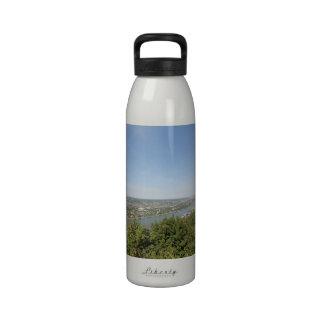 Valle escénico del Rin Botella De Agua